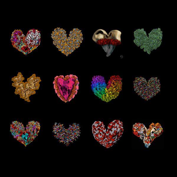 heartbeats calendar 2021 - Michel Poort